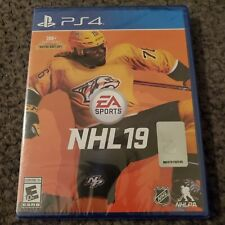 PS4 NHL 19 Game (Sony Playstation 4) Brand New Factory Sealed