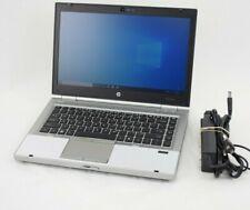 HP Elitebook 8460p Laptop Computer Intel i5 Windows 10 8GB RAM 500GB Hard Drive