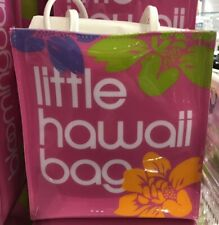 "Hawaii BLOOMINGDALE'S Little Brown ""Hawaii""  Pink Bag Bloomie's Vinyl Plastic"