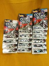 HOT WHEELS COP RODS - LOT of 15 NEW IN PACKAGE