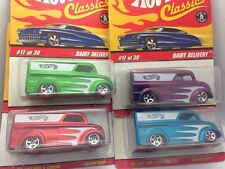 Dairy Delivery CLASSICS Series 2 Hot Wheels 4 color Set