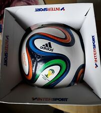 ADIDAS 2014 BRAZIL WORLD CUP OFFICIAL FOOTBALL - BRAZUCA ( NEW & ORIGINAL BOX )