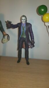 "NECA Joker Batman Dark Knight Heath Ledger 7"" Action Figure DC Movie Universe"