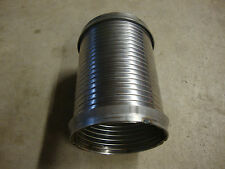 "10"" Stainless Steel Flexible Exhaust Tubing 4"" Diameter"