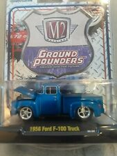 Castline M2 Machines GROUND POUNDERS Release 1 1956 Ford F-100 Truck NEW 2009