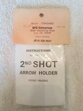 2nd Shot Arrow Holder