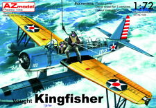 """AZ Model 1/72 Vought Kingfisher with Floats """"US Navy"""" # 7636"""