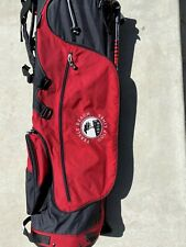 Pebble Beach Titleist Stand golf bag. Good Condition Red !