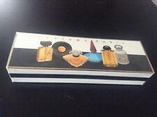 Coffret miniatures parfums Eaux de Toilette Paris ETAT NEUF