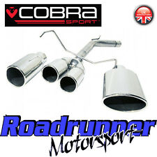 VC20 Cobra Sport Corsa C 1.2 & 1.4 Rear Exhaust Race Tube Pipe With Tailpipe New