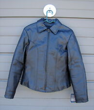 NWT Bikers Dream Apparel Leather Motorcycle Jacket Zipout Lining Ladies XL