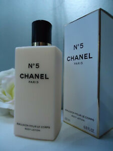 CHANEL Gift Wrap No5 BODY LOTION 200ml Discontinued Exceptional Formula New Box