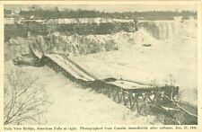 Niagara Falls, ON Collaspe of the Falls View Bridge January 27 1938