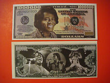 Musician & Godfather of Soul: JAMES BROWN ~*~ Hip $1,000,000 One Million Dollars