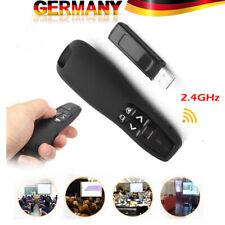 Professioneller Wireless Logitech R400 Laserpointer Kabellos Presenter Schwarz