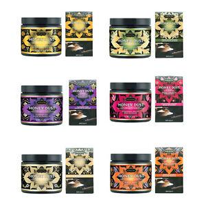 Kama Sutra Honey Dust Kissable Moisture Wicking Body Powder - 6 Scents / 2 Sizes
