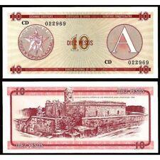 10 Pesos 1985 Serie A UNC P FX4