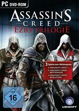 PC Game Assassin's Creed Ezio Collection AC 2+Brotherhood+Revelations New