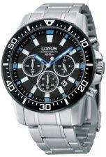Lorus Herrenuhr RT355DX9 Chronograph 43mm 10 Bar Datum Tag Sekundenanzeige *NEU*