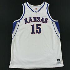 Game Worn Kansas Jayhawks Nike 50 +2 Bryant Nash Jersey 2000-01