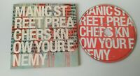 CD Promo Manic Street Preachers Know Your Enemy 2001 Sony Music