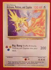 RARE Articuno, Moltres, and Zapdos GIANT Promo MINT TGC English Pokemon Card