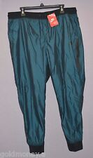 Nike T2 Windbreaker Tech Jogger Running Woven Pants Women Slim Fit  XL New $70