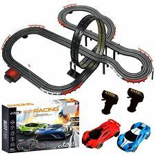 Rexco JJ113-1 Remote Controlled Slot Car Track Set