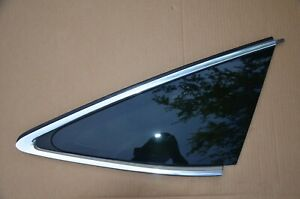 2018-2021 Audi RS7 A7 S7 Rear Right Quarter Panel Side Window Glass OEM Chrome