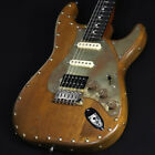 Paoletti Guitars: Stratspheric Wine HSS Natural Electric Guitar for sale