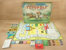 Vintage Waddingtons TOTOPOLY The Great Race Game 1960s NOT COMPLETE Spares