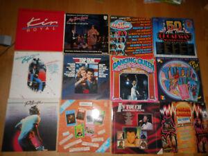 über 120 Schallplatten Vinyl Sammlung Konvolut Singles LP Hard Rock Wave Oldies