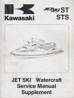 1994-1997 KAWASAKI JET SKI ST, STS SERVICE MANUAL SUPPLEMENT 99924-1164-52 (437)