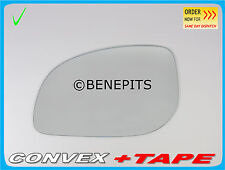 Left Side Convex Stick On Wing Mirror Glass For HYUNDAI i10 2011-2013 +TAPE #417