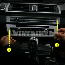 New listing Inner Console Air Conditioner & Cd Panel Cover For Bmw 5 Series F10 2011-2016