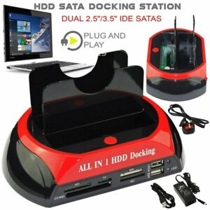 """All in One HDD Docking Station HDD 2.5/3.5"""" SATA/IDE Hard Drive Docking Station"""