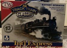 Electric Track Train Classic Set Int'l Express Battery Operated Train Set