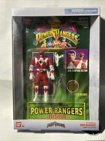 2018 Mighty Morphin Power Rangers Auto Morphin Red Ranger~Legacy Collection NIB