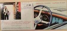 Donald Fagen- Kamakiriad- Promo Only Limited Edition Gold Disc CD