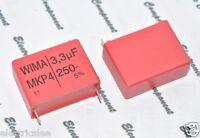 2pcs - WIMA MKP4 3.3uF (3.3µF) 250V 5% pich:27.5mm Capacitor