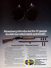 1990 MOSSBERG Model 5500 MKII 12 gauge Double Barrel Semi-auto SHOTGUN AD
