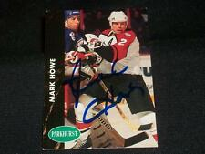 Flyers HOF Mark Howe Signed Auto 1991/92 Pro Set Parkhurst Card #130  A17