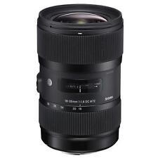 Sigma Auto & Manual Focus f/1.8 Camera Lenses
