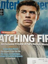 LIAM HEMSWORTH Catching Fire Entertainment Weekly 2013 JARED LETO