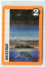 BEACH BOYS 1990 Still Cruisin' Tour Laminate Backstage Pass!!! concert stage