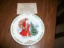 Lenox 1992 Kris Kringle The International Victorian Santas Plate