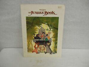 Disney's The Jungle Book Original Studio Press Kit Reissue with 4 Photos  MINT