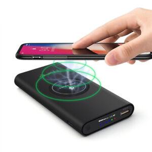 DIY 10000mAh QI  Wireless Charger Case Power Bank External Portable No Battery