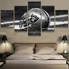 Oakland Raiders Stadium 5 pcs Painting Printed Canvas Wall Art Home Decorative