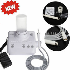 Dental Ultrasonic Piezo Scaler + Handpiece fit EMS WOODPECKER Bottles Tips AU
